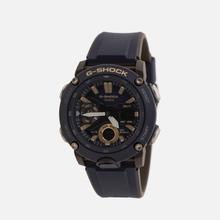 Наручные часы CASIO G-SHOCK GA-2000-2AER Carbon Core Guard Navy/Black/Gold фото- 1