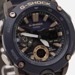 Наручные часы CASIO G-SHOCK GA-2000-2AER Carbon Core Guard Navy/Black/Gold фото- 2