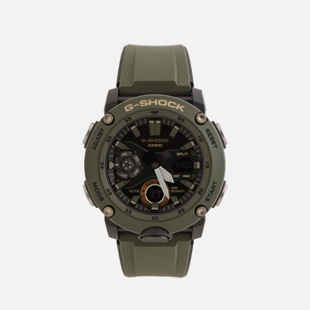 Наручные часы CASIO G-SHOCK GA-2000-3AER Carbon Core Guard Olive/Black/Gold