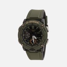 Наручные часы CASIO G-SHOCK GA-2000-3AER Carbon Core Guard Olive/Black/Gold фото- 1