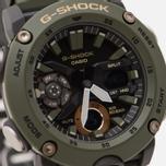 Наручные часы CASIO G-SHOCK GA-2000-3AER Carbon Core Guard Olive/Black/Gold фото- 2