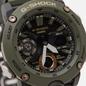 Наручные часы CASIO G-SHOCK GA-2000-3AER Carbon Core Guard Olive/Black/Gold фото - 2