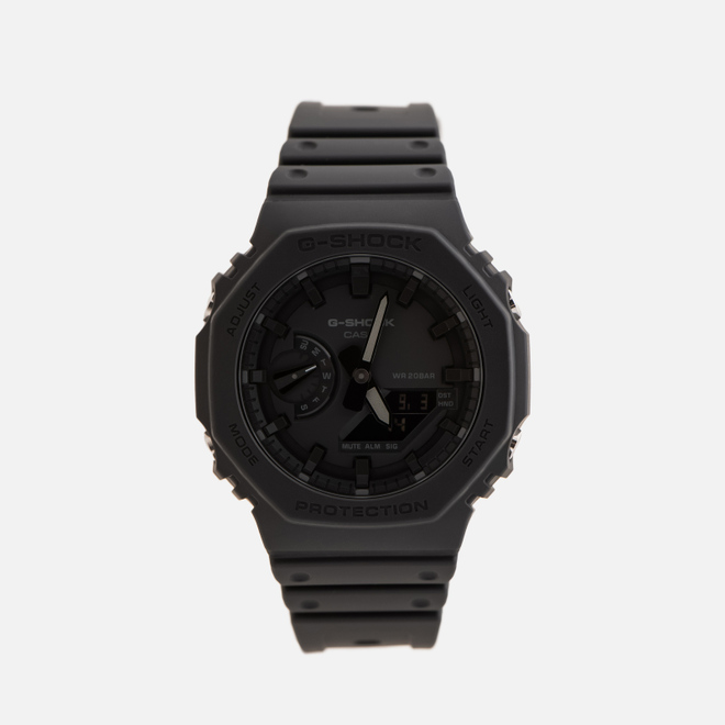 Наручные часы CASIO G-SHOCK GA-2100-1A1ER Octagon Series Black/Black