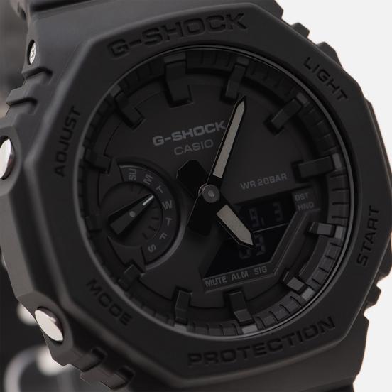 Наручные часы CASIO G-SHOCK GA-2100-1A1ER Octagon Series Black/Black