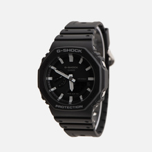 Наручные часы CASIO G-SHOCK GA-2100-1AER Octagon Series Black/Silver фото- 1