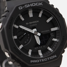 Наручные часы CASIO G-SHOCK GA-2100-1AER Octagon Series Black/Silver фото- 2