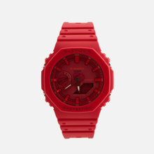 Наручные часы CASIO G-SHOCK GA-2100-4AER Octagon Series Red/Red фото- 0