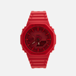 Наручные часы CASIO G-SHOCK GA-2100-4AER Octagon Series Red/Red