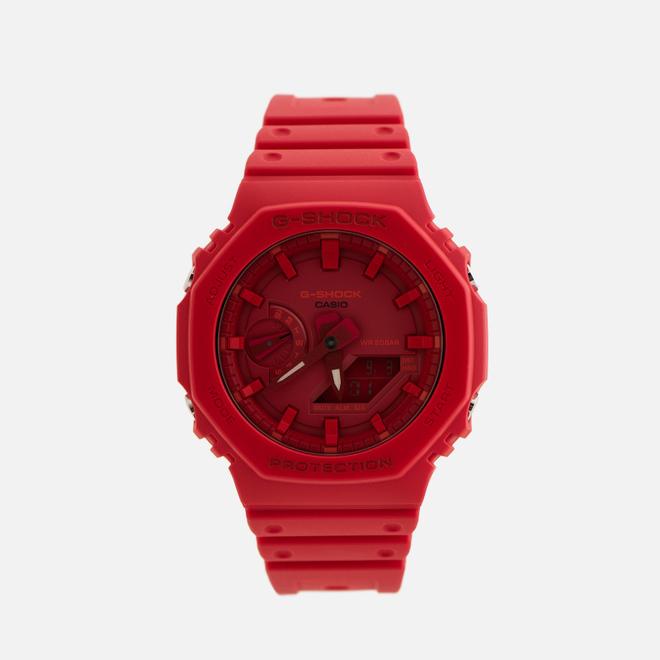 Наручные часы CASIO G-SHOCK GA-2100-4AER Octagon Series Red/Red