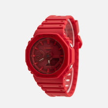 Наручные часы CASIO G-SHOCK GA-2100-4AER Octagon Series Red/Red фото- 1