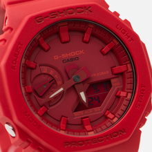 Наручные часы CASIO G-SHOCK GA-2100-4AER Octagon Series Red/Red фото- 2
