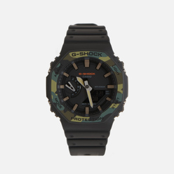 Наручные часы CASIO G-SHOCK GA-2100SU-1AER Black/Camo
