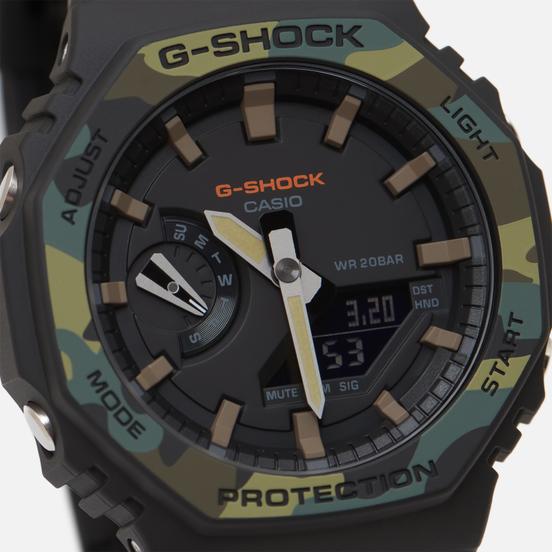 Наручные часы CASIO G-SHOCK GA-2100SU-1AER Black/Camo