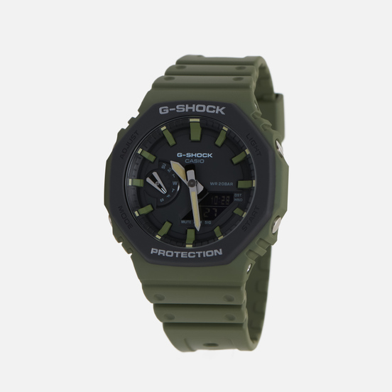 Наручные часы CASIO G-SHOCK GA-2110SU-3AER Green/Black
