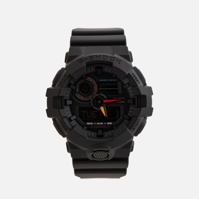 Наручные часы CASIO G-SHOCK GA-700BMC-1AER Black/Red/Yellow