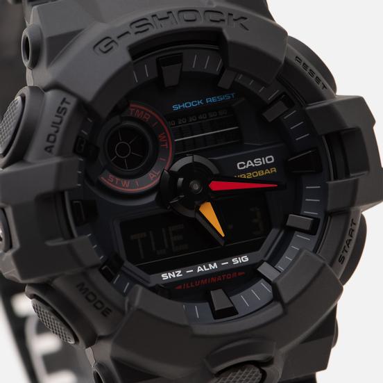 Наручные часы CASIO G-SHOCK GA-700BMC-1AER Black/Red/Yellow