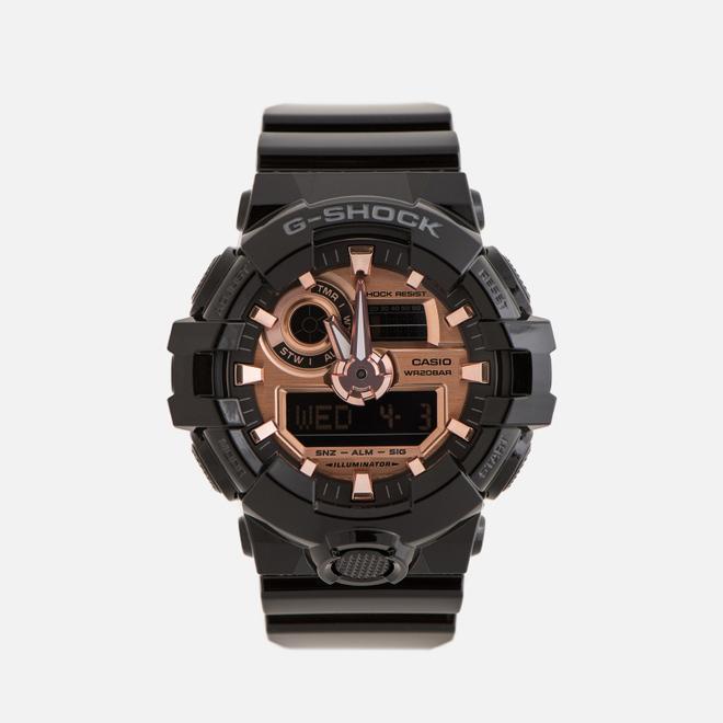 Наручные часы CASIO G-SHOCK GA-700MMC-1AER Gold Series Black/Rose