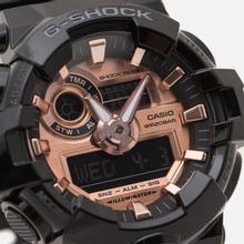 Наручные часы CASIO G-SHOCK GA-700MMC-1AER Gold Series Black/Rose фото- 2