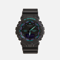 Наручные часы CASIO G-SHOCK GA-800BL-1AER 90s Series Black/Green/Purple