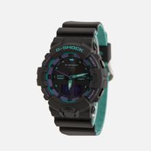 Наручные часы CASIO G-SHOCK GA-800BL-1AER 90s Series Black/Green/Purple фото- 1