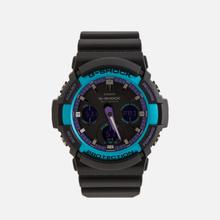 Наручные часы CASIO G-SHOCK GAW-100BL-1AER 90s Series Black/Blue/Purple фото- 0