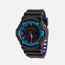 Наручные часы CASIO G-SHOCK GAW-100BL-1AER 90s Series Black/Blue/Purple фото- 1