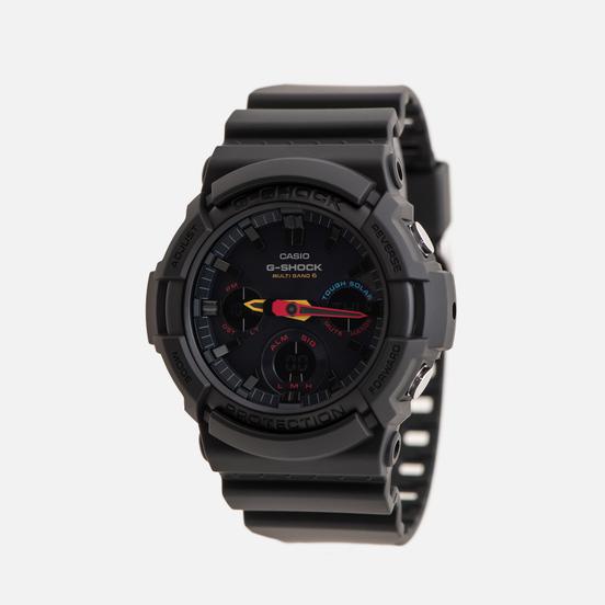 Наручные часы CASIO G-SHOCK GAW-100BMC-1AER Neo Tokyo Series Black/Yellow/Red