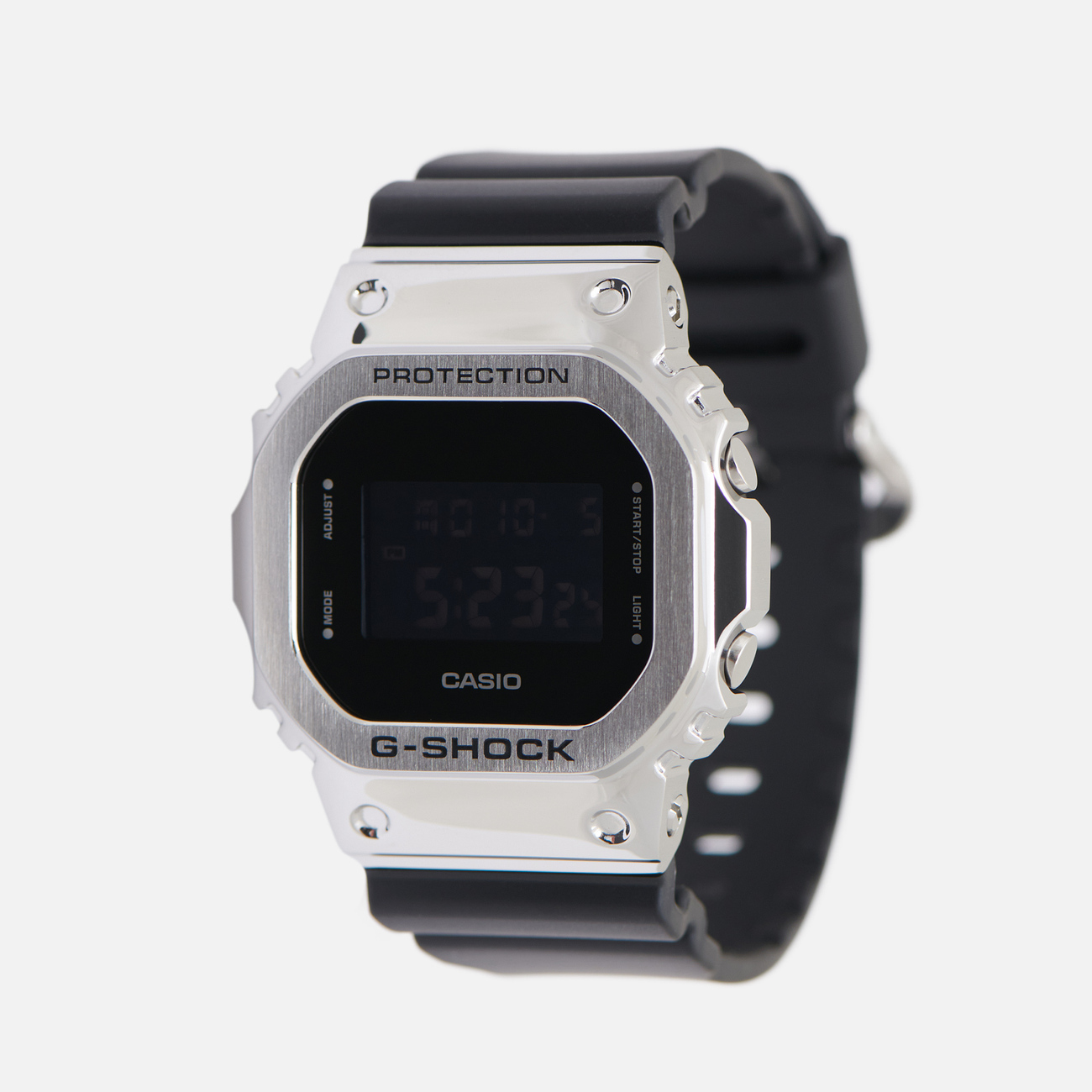 Наручные часы CASIO G-SHOCK GM-5600-1ER Silver/Black