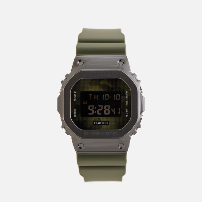 Наручные часы CASIO G-SHOCK GM-5600B-3ER Black/Green