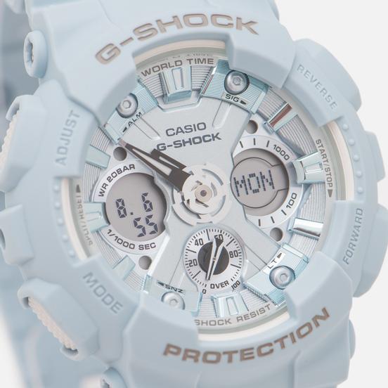 Наручные часы CASIO G-SHOCK GMA-S120DP-2AER Pastel Series Blue