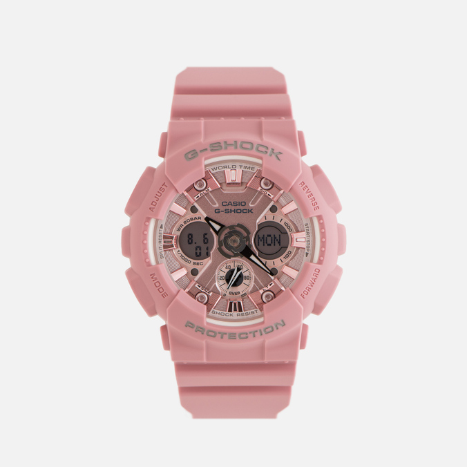 Наручные часы CASIO G-SHOCK GMA-S120DP-4AER Pastel Series Pink
