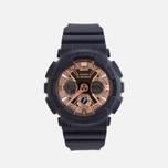 Наручные часы CASIO G-SHOCK GMA-S120MF-2A2ER Series S Navy/Gold фото- 0