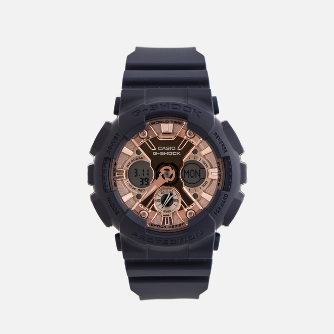 Наручные часы CASIO G-SHOCK GMA-S120MF-2A2ER Series S Navy/Gold