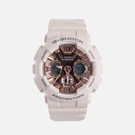 Наручные часы CASIO G-SHOCK GMA-S120MF-4A Series S Light Pink/Rose Gold