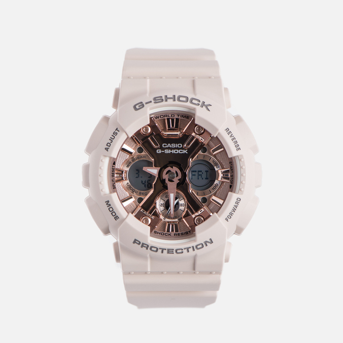 Наручные часы CASIO G-SHOCK GMA-S120MF-4A Series S Light Pink/Rose Gold