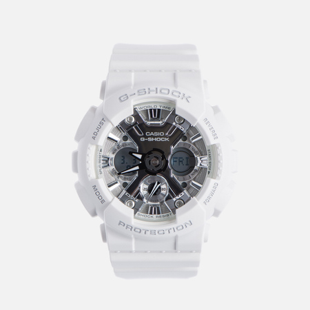 Наручные часы CASIO G-SHOCK GMA-S120MF-7A1 Series S White/Silver
