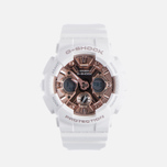 Наручные часы CASIO G-SHOCK GMA-S120MF-7A2 Series S White/Rose Gold фото- 0