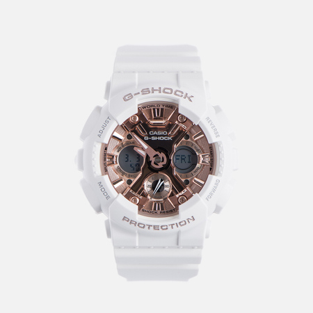 Наручные часы CASIO G-SHOCK GMA-S120MF-7A2 Series S White/Rose Gold