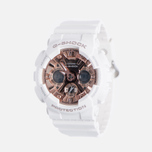 Наручные часы CASIO G-SHOCK GMA-S120MF-7A2 Series S White/Rose Gold фото- 1