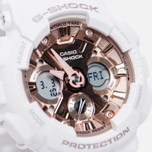 Наручные часы CASIO G-SHOCK GMA-S120MF-7A2 Series S White/Rose Gold фото- 2