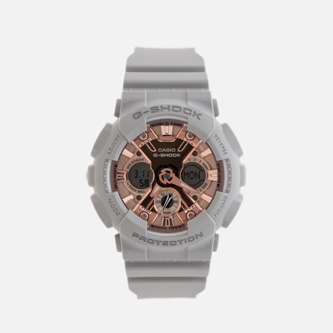 Наручные часы CASIO G-SHOCK GMA-S120MF-8AER Series S Grey/Rose Gold