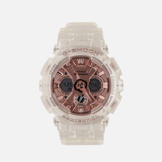 Наручные часы CASIO G-SHOCK GMA-S120SR-7AER S Series Transparent/Rose Gold