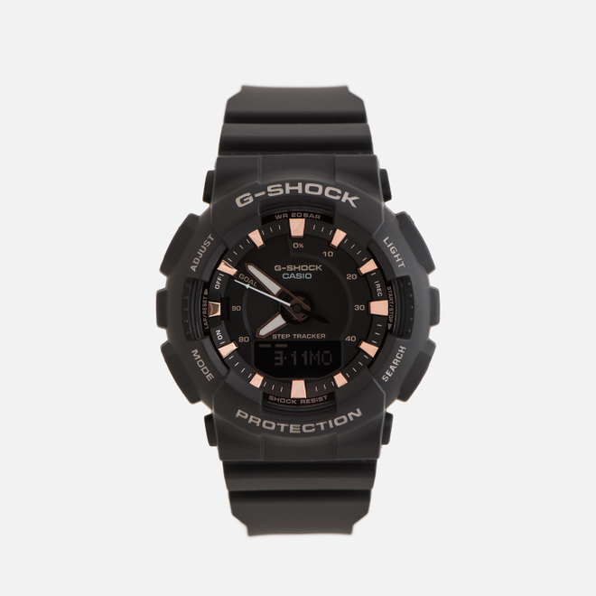 Наручные часы CASIO G-SHOCK GMA-S130PA-1AER S Series Black/Rose Gold
