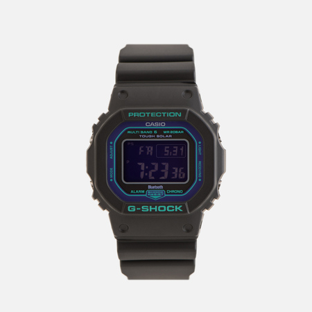 Наручные часы CASIO G-SHOCK GW-B5600BL-1ER 90s Series Black/Purple/Green