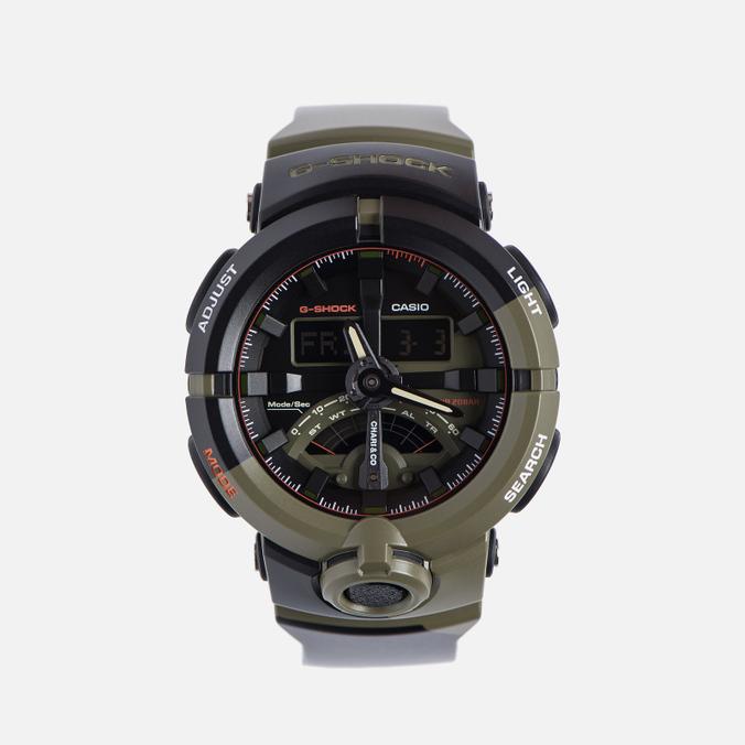 Наручные часы CASIO G-SHOCK x Chari & Co GA-500K-3A Black/Olive