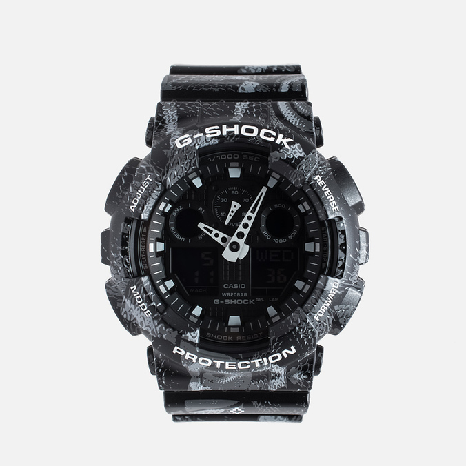 Casio G-SHOCK x Marcelo Burlon GA-100MRB-1A Watch Black