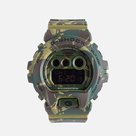 CASIO Наручные часы G-SHOCK GD-X6900MC-3E Camouflage Series Wetland Camo