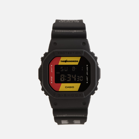 Наручные часы CASIO x The Hundreds G-SHOCK DW-5600HDR-1ER Black/Yellow/Red