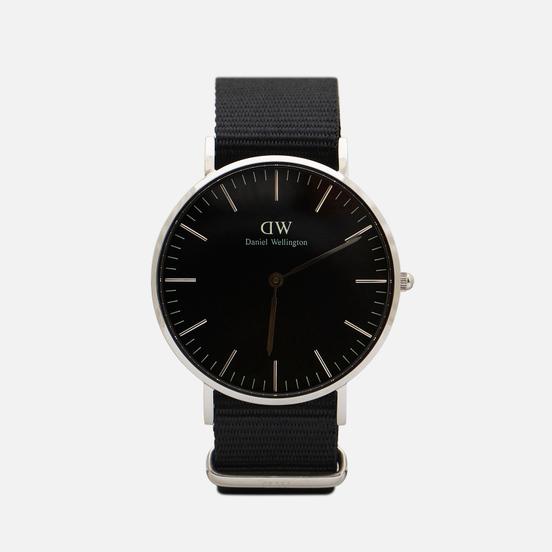 Наручные часы Daniel Wellington Classic Cornwall Black/Silver/Black