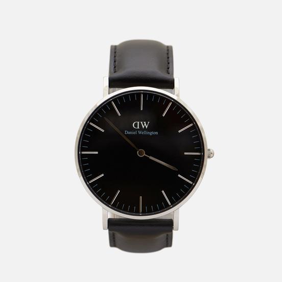 Наручные часы Daniel Wellington Classic Sheffield Black/Silver/Black